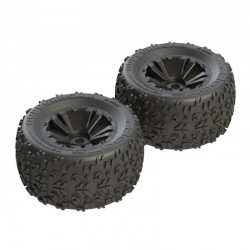 AR550013 Copperhead MT 6S Tire/Wheel Glued Blk (2)