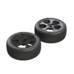 AR550012 Exabyte BGY 6S Tire/Wheel Glued Black (2)