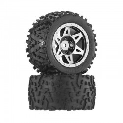 AR550006 Sand Scorpion DB Tire/Wheel Glu Blk/Chrm