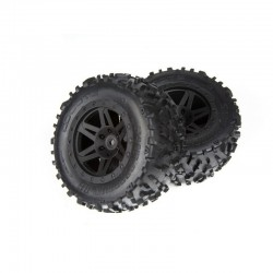 AR550025 Sand Scorpion DB XL Tire/Wheel Blk Re (2)