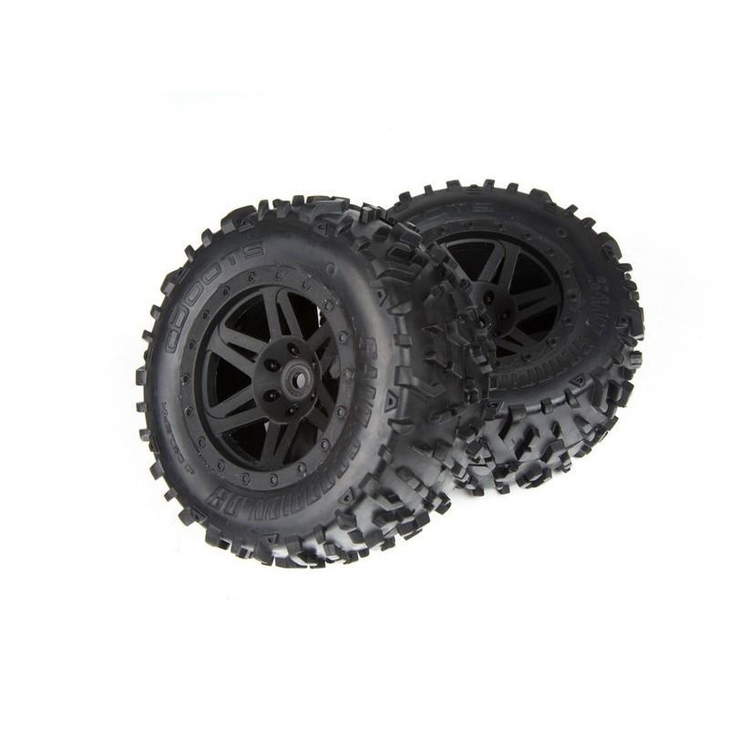 AR550025 Sand Scorpion DB XL Tire/Wheel Blk Re (2)