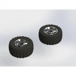 AR550035 dBoots Ragnarok Tire Wheel Set
