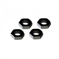 AR310449 Wheel Nut Aluminum 17mm Black (4)