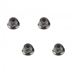 AR708001 Flange Lock Nuts 4mm (4)