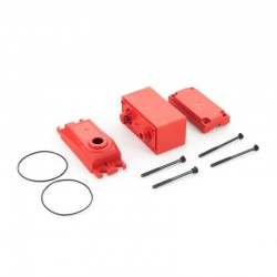 AR390147 ADS Metal Gear Servo Case Red