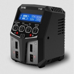 T100 Duo AC Charger (LiPo...