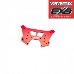 REAR SHOCK TOWER CNC 7075 T6 ALUMINUM RS (Red)
