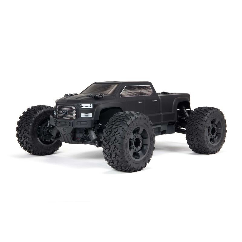 ARRMA BIG ROCK 4X4 V3 3S BLX Monster Truck RTR, Black