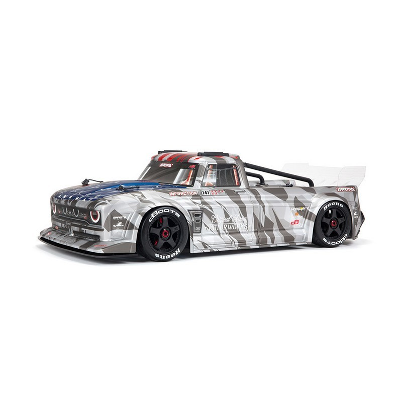ARRMA INFRACTION 6S BLX All-Road Truck RTR, Silver