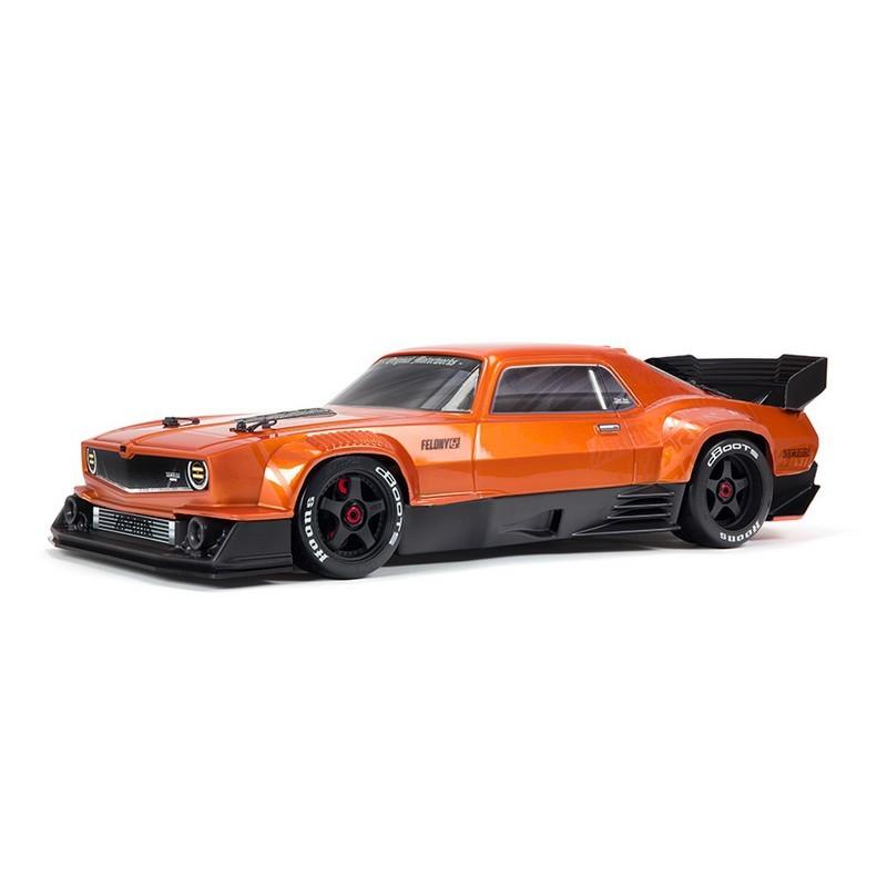 ARRMA FELONY 6S BLX Street Bash All-Road Muscle Car RTR, Orange