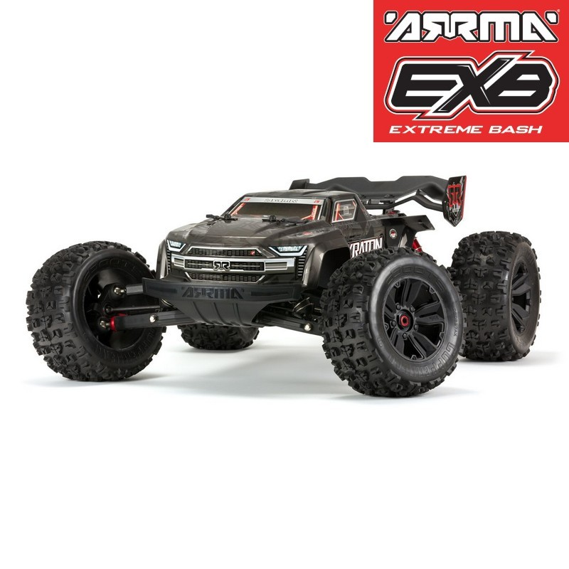 ARRMA KRATON 4WD EXtreme Bash Roller Black