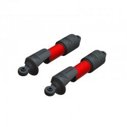 Shock Set, 11mm Bore, 118mm Length, 500cSt Oil
