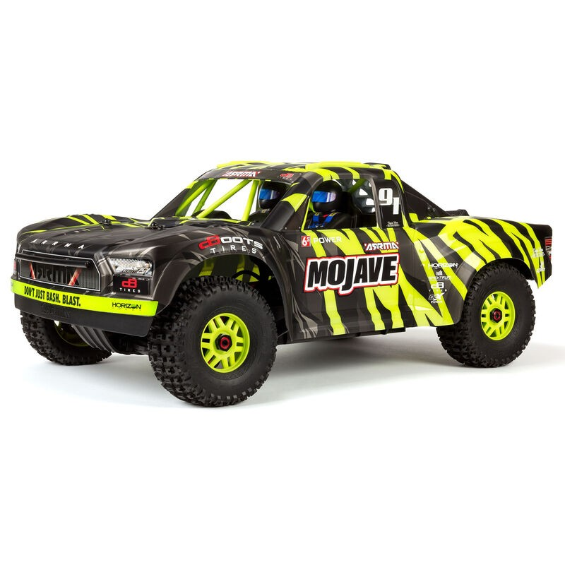 ARRMA MOJAVE 6S 4WD BLX 1/7 Desert Truck RTR Geen/Black