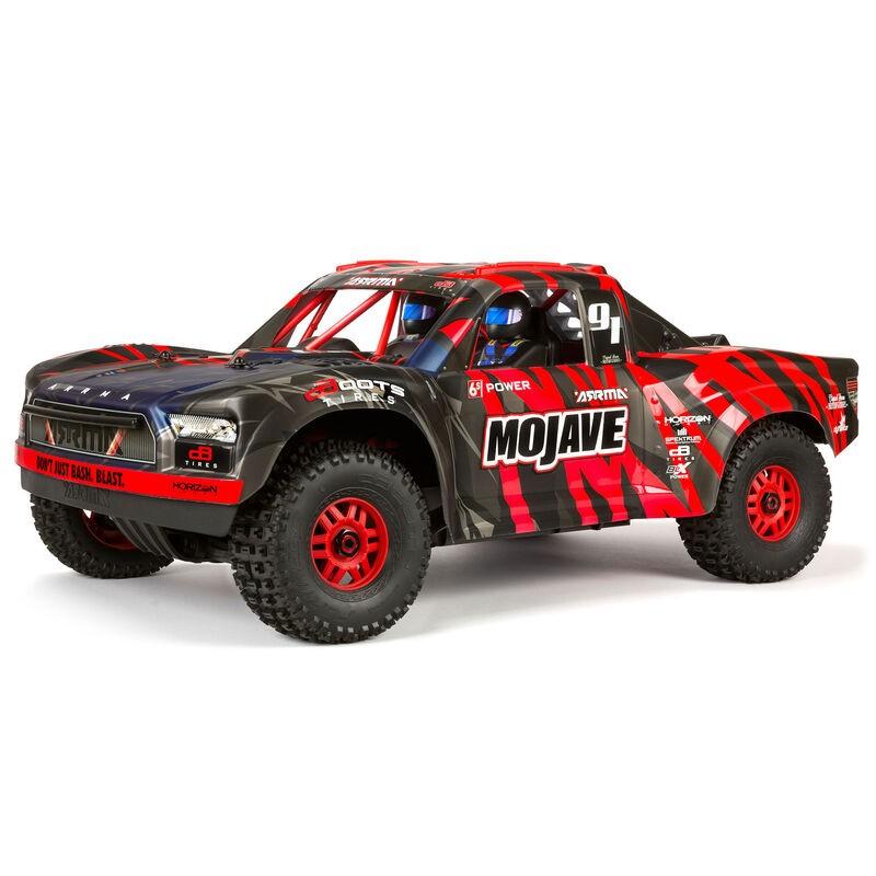 ARRMA MOJAVE 6S 4WD BLX 1/7 Desert Truck RTR Red/Black