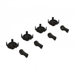 Shock Rod End & Spring Perch Set (4 Shocks)