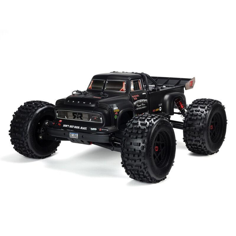 ARRMA NOTORIOUS 6S 4WD BLX 1/8 Stunt Truck RTR Black