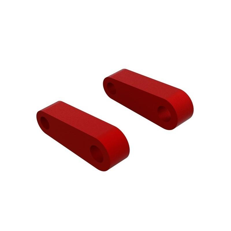 Aluminum Fr Suspension Mounts (Red) (2)