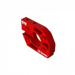 Aluminum Motor Plate 56 Series Red