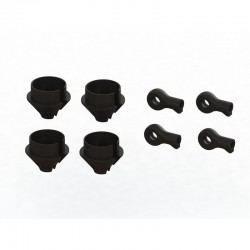 HD Shock Rod End and Spring Cup Set (2 Pairs)