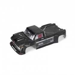 OUTCAST 1/5 EXB PAINTED DECALED TRIMMED BODY (BLACK)