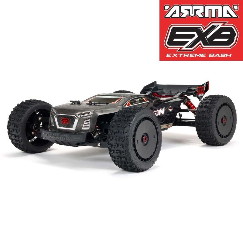 ARRMA1/8 TALION 6S BLX 4WD EXtreme Bash Speed Truggy RTR, Black