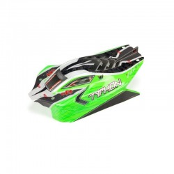 Typhon 4X4 Mega Body Painted Decal Trimmed Green