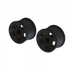 "2.8"" Wheel 14mm Hex (Black/2)"