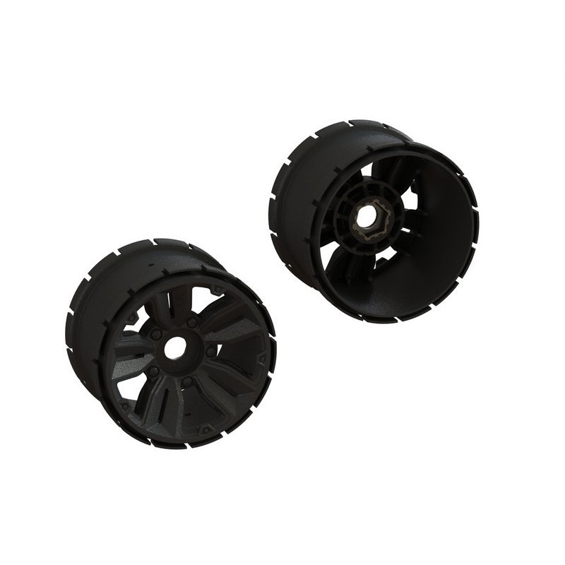 "Mt Wheel 4.9"" 24mm Hex (1 Pair)"