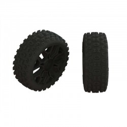 2HO Tire Set Glued Black (2)