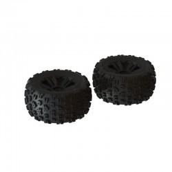 dBoots 'Copperhead2 MT' Tire Set Black - Pair