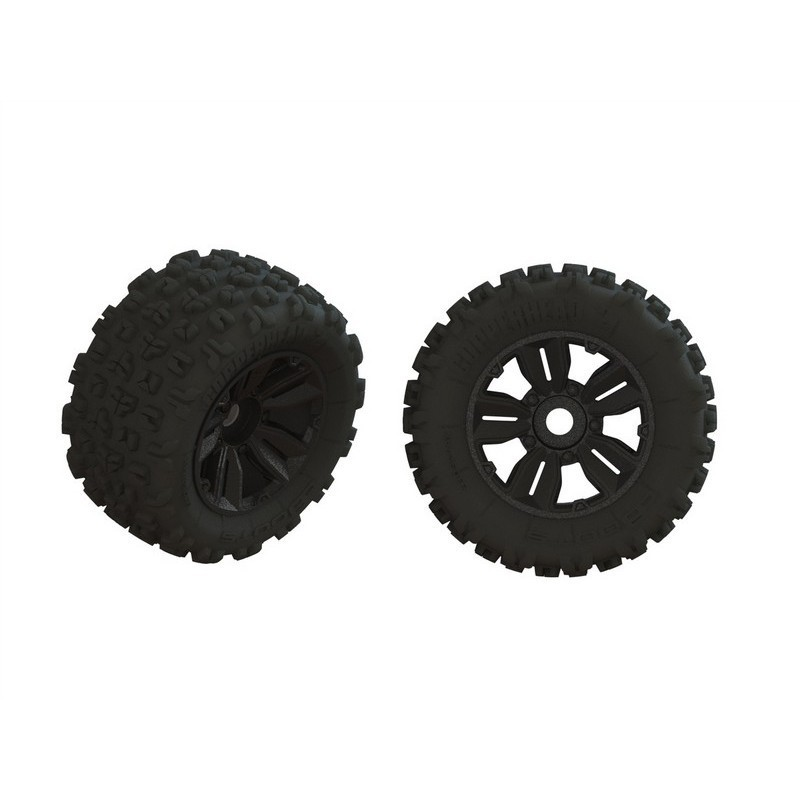 Dboots 'Copperhead2 SB MT' Tire Set Glued (1 Pair)