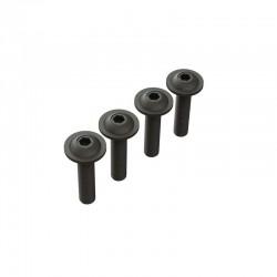 Button Head Screw Flanged M4x14mm (4)
