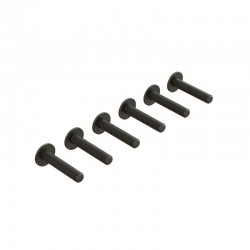 Flanged Button Head Screw M4x20mm (6)