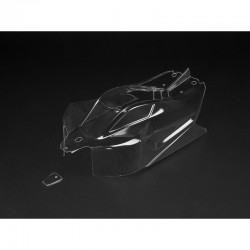 AR406106 Body Clear W/ Decals Typhon 6S BLX
