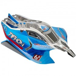 AR406118 Body Blue Painted W/Decals Typhon 6S BLX