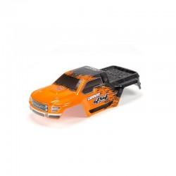 AR402208 Body Painted/Decal Orange GRANITE 4x4 BLX