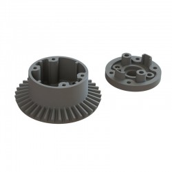 AR310872 Diff Case Set 37T Main Gear 4x4 BLX 4S
