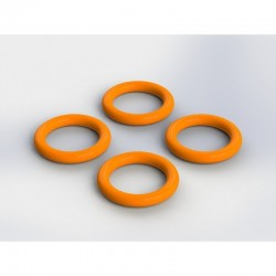 AR716014 O-Ring 7x1.5mm Nero (4)