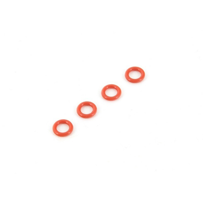 AR716011 O-Ring P-5 4.5x1.5mm Red (4)