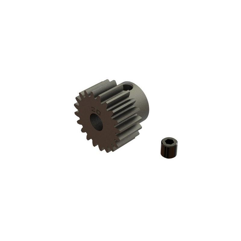 AR310876 Pinion Gear 20T 0.8 Mod 4x4 BLX 3S