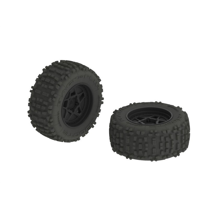 AR510092 dBoots Backflip MT 6S Tire Wheel Set