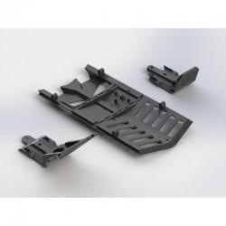 AR320282 Skidplate Front/Rear/Center Set Nero