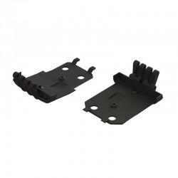 AR320401 F/R Lower Skidplate (2) 4x4 Granite MEGA