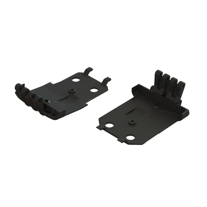 AR320401 F/R Lower Skidplate (2) 4x4 Granite MEGA