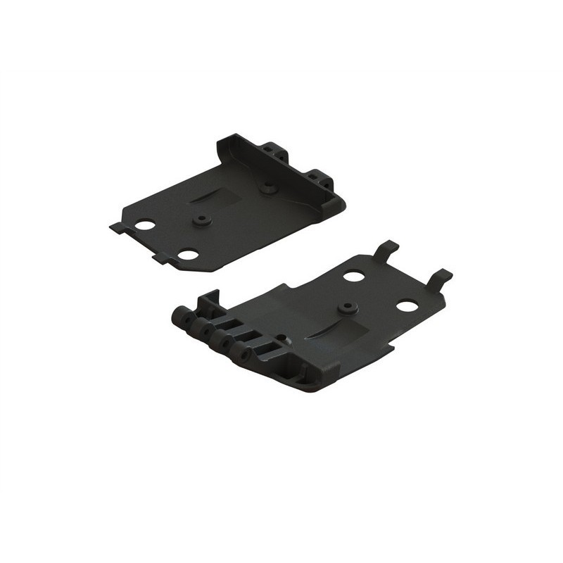 AR320419 F/R Lower Skidplate (2) 4x4 Senton Mega