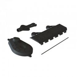 AR320448 Battery Door Gear CVR/Shock Tool VOLTAGE