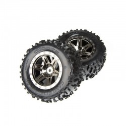 AR550002 Dboots Sand Scorpion XL Rear Black/Chrome