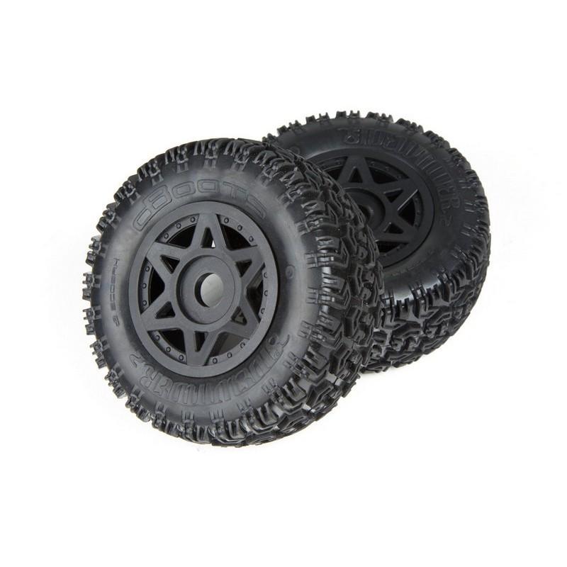 AR550003 Dboots Sidewinder 2 6S Glued Black