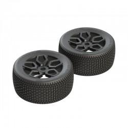 AR550026 Exabyte NT Truggy Tire Set Pre-glued