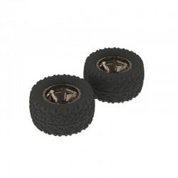 AR550004 Copperhead MT Tire/Wheel GLU Blk/Chrm (2)